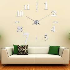3d wall clock picture more detailed picture about diy 3d wall