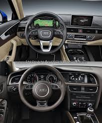audi a4 2015 2016 audi a4 b9 vs 2013 audi a4 b8 interior old vs new