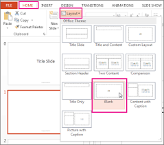 custom design layout powerpoint edit and reapply a slide layout office support