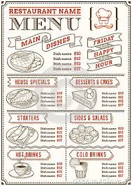 snack bar menu template 24 images of snack bar food menu template infovia net