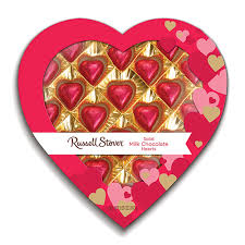 chocolate heart candy stover window to my heart solid milk chocolate hearts gift