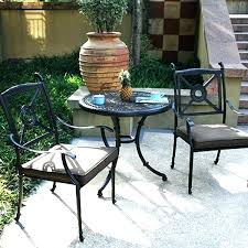 Bistro Patio Chairs Garden Bistro Set Image Of Bistro Set In Bronze With