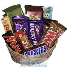 chocolate gift basket cadbury mix chocolates gift basket 14 chocolates send gifts to
