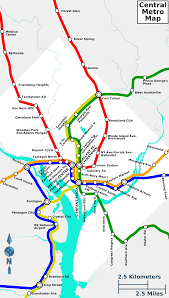 Washington Metro Map Pdf by File Central Metro Map To Scale Png Wikimedia Commons
