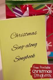 christmas songbook free pdf printable a mom u0027s take