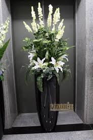large floor vase set modern fashion decoration set flowers
