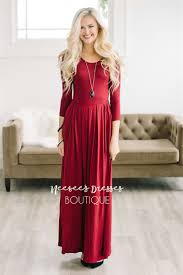 Formal Dresses With Pockets Burgundy Maxi Modest With Pockets Best Online Modest Boutique
