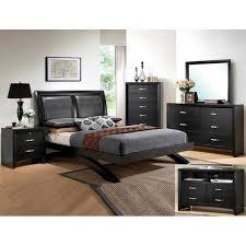 crown mark beds galinda b4380 king upholstered platform bed king