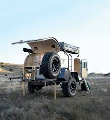 offroad teardrop camper the moby1 xtr expedition trailer is an off road warrior maxim