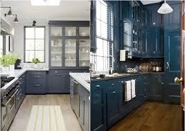 Cobalt Blue Kitchen Cabinets Kitchens I M Digging Annawestinteriors