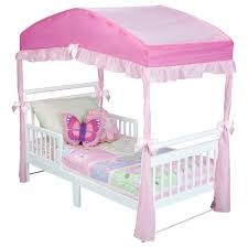canopy bed design cute toddler bed canopy for kids toddler bed