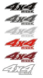 toyota hilux logo toyota hilux 4x4 stickers sticker creations