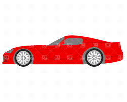 cartoon sports car black and white front side of car clipart clipground