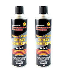 Glue For Upholstery 2 Pack Professional Foam Fabric Upholstery Leather Aerosol
