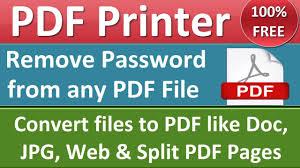 Smallpdf Offline U0026 Online Pdf Printer Convert Any File To Pdf Password