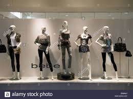 Store Window Design Bebe Womens Clothes And Apparel Store Window Las Vegas Usa Stock