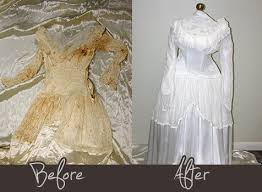 wedding dress restoration wedding gown cleaning and preservation garment care pros