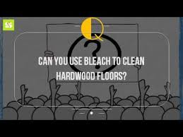 can you use to clean hardwood floors