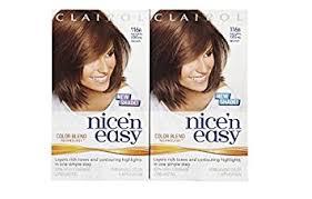 light caramel brown hair color amazon com clairol nice n easy hair color natural light caramel