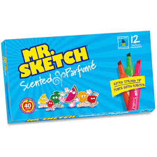 sanford mr sketch scented markers bevel marker point style