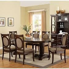 formal dining room sets amazon com walnut finish formal dining room table