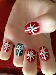 merry christmas nail art archives page 3 of 4 nail art designs