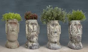 the empty nester a journey making my own head planters with