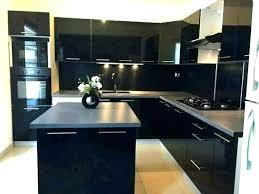 meuble haut cuisine noir laqué meuble cuisine noir laquac meuble de cuisine noir cuisine cuisine e