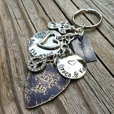personalized keychain gifts handmade sted sweet 16 personalized keychain custom