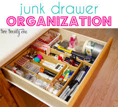 kitchen drawer organizer ideas junk drawer organization