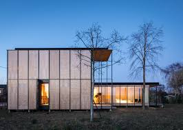 belgian holiday house by gafpa takes its cues from japanese