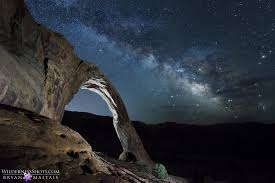Light Painting Landscape Photography Moab Arch Way