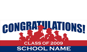 congratulations graduation banner graduation banners signs design id 2000 dpsbanners