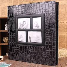 large leather scrapbook personalized scrapbook album large leather photo album photo
