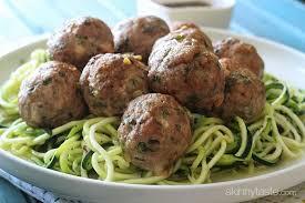 asian turkey meatballs with lime sesame dipping sauce skinnytaste