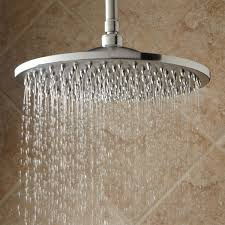 rain shower head system bisset thermostatic shower system dual shower heads and hand
