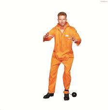 convict halloween costumes escaped convict overall costume plus size