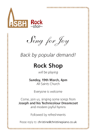 all saints boyne hill rock shop songs of praise in the