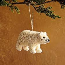 brush ornament polar west elm