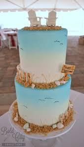 beach wedding cake bold city confections