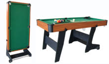 5ft Folding Pool Table Boluo Yuanzhou Double Jiang Sports Facility Factory Table Tennis
