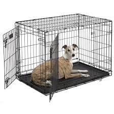 midwest icrate double door folding dog crates petco
