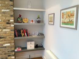 paintable floating shelves bespoke nature