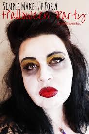 ben nye halloween makeup simple make up for a halloween party the purple pumpkin blog