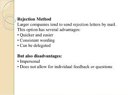 Rejection Letter To Candidate interviewing best practices rejecting unsuccessful applicants