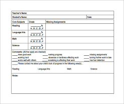 educational progress report template progress report template 13 free documents in pdf word