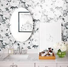 enchanting bathroom wall border bathroom wallpaper looks we