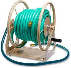water hose reel 200 ft capacity professional garden outdoor
