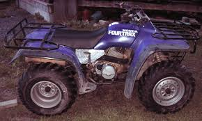 my new blue fourtrax 300 4x4 honda atv forum