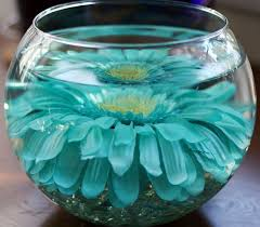 Blue Vases For Wedding 43 Best Fishbowl Wedding Centerpieces Images On Pinterest